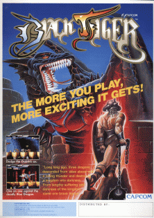 black tiger arcade