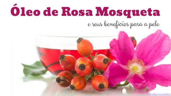 benefícios da rosa mosqueta para pele