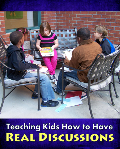 discussion strategies, literature circles, discussion skills, cooperative learning