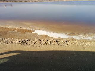 كيف تستخرج الأملاح من البحر الميت