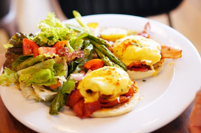 Eggs Benedict are a Kalami Cebu favorite in Abaca Baking Company