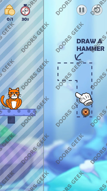Hello Cats Level 42 Solution, Cheats, Walkthrough 3 Stars for Android and iOS