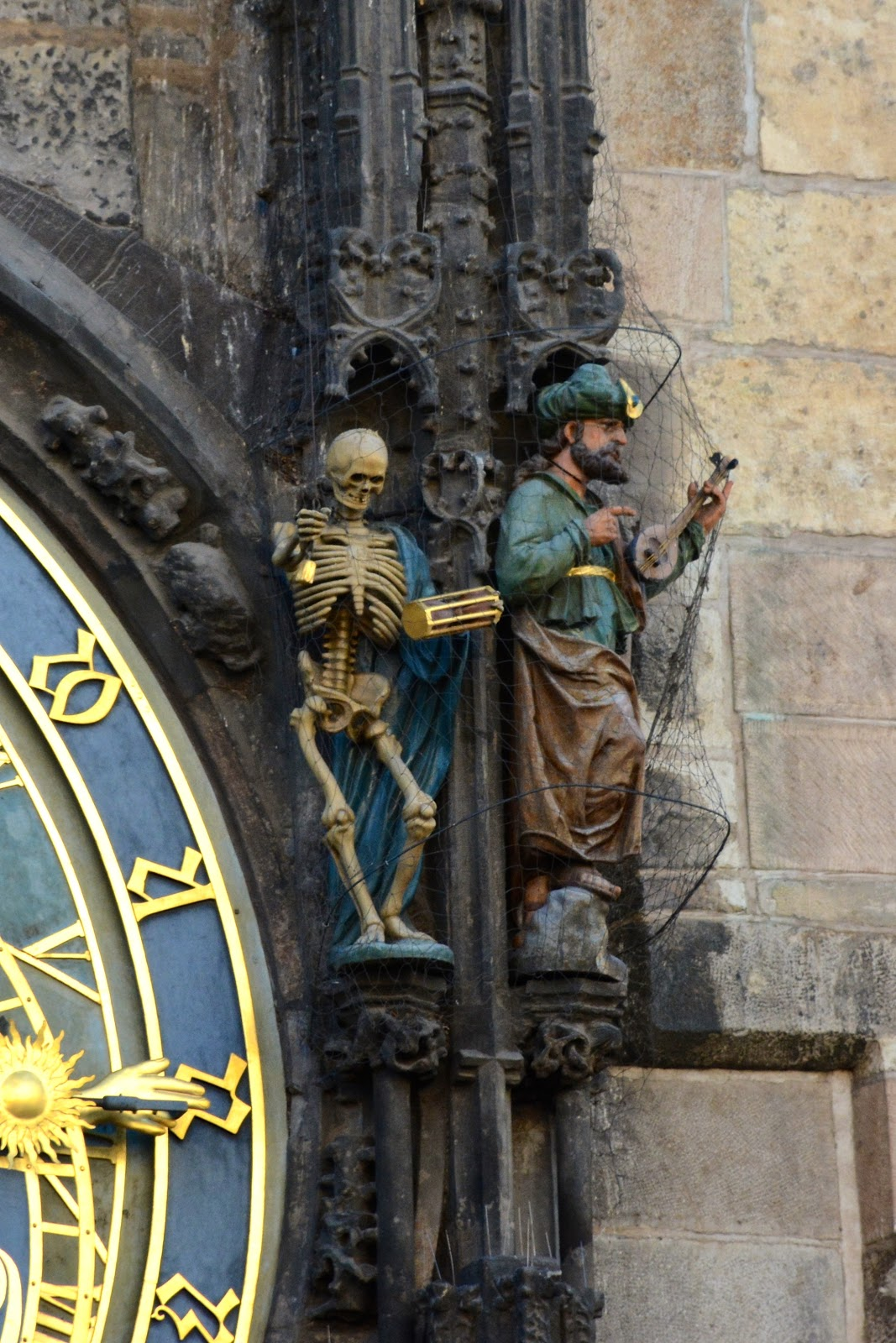 Death and the Turk on Prague's astronomical clock