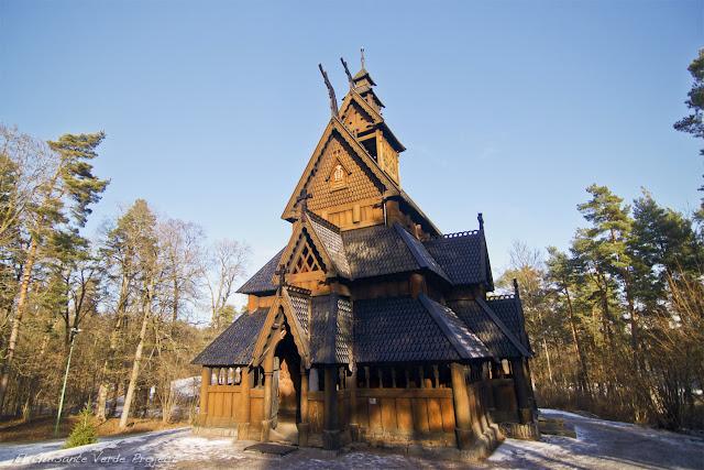 Norsk Folkemuseum - Oslo, por El Guisante Verde Project