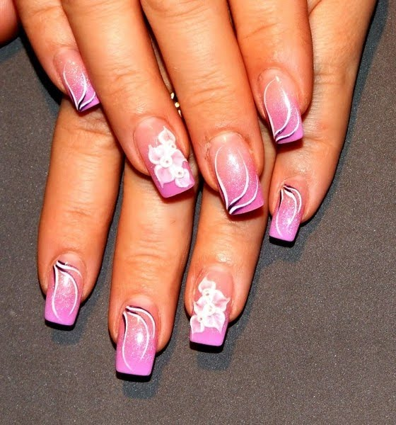 Prettyfulz Fall Nail Art Design 2011: Colorful Fall Nail Art Ideas