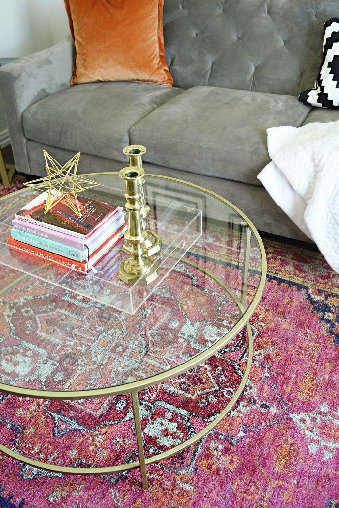 Oriental weavers kaleidoscope rug | via monicawantsit.com