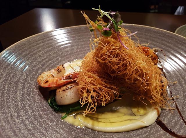 Tatsumi, Newmarket, New Zealand, seafood platter