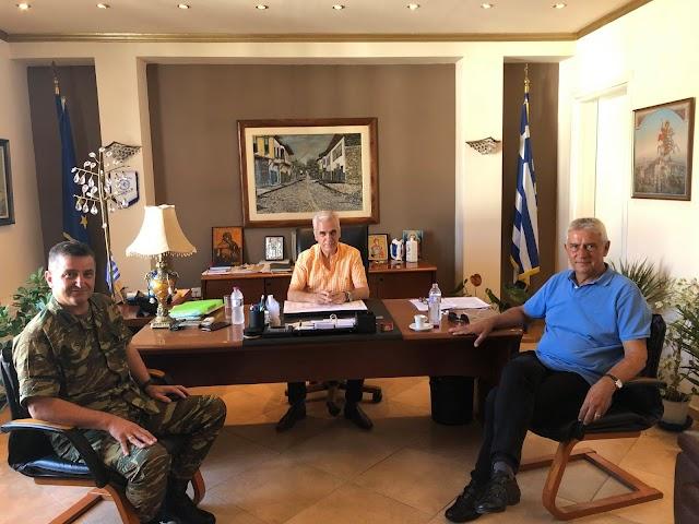 Σουφλί: Κοινή σύσκεψη Δκτη 50 Μ/Κ ΤΑΞΠΖ-Βουλευτή ΝΔ Αν. Δημοσχάκη-Δήμαρχου