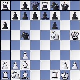 Partida de ajedrez Viladerbó-Rey Ardid después de 15.Cf5, Barcelona 1926