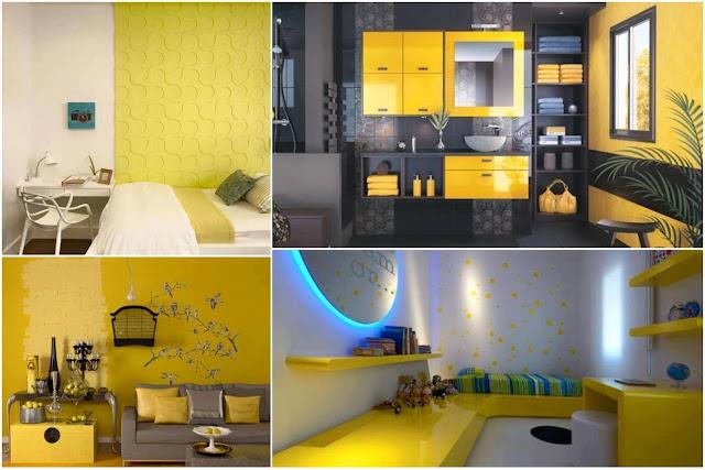 Yellow Interior Decoration Ideas