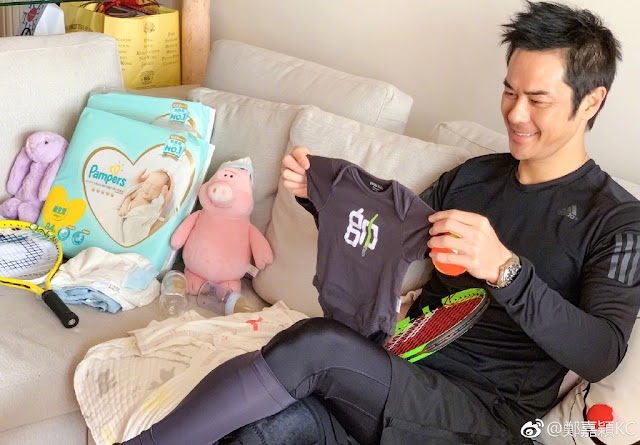 Kevin Cheng new dad