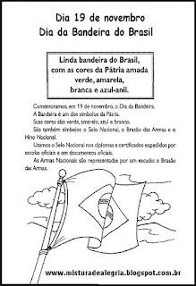 Texto sobre a bandeira do Brasil