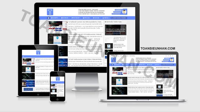 Share Template Toàn Siêu Nhân Từng Dùng | Template Responsive BMAG EDITED