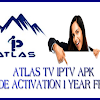 DOWNLOAD FREE APK ATLAS IPTV WITH CODE ACTIVATION VALID FOR 1 YEAR