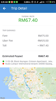 pemandu uber malaysia