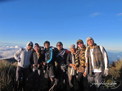 Group picture at Mt. Pulag Summit