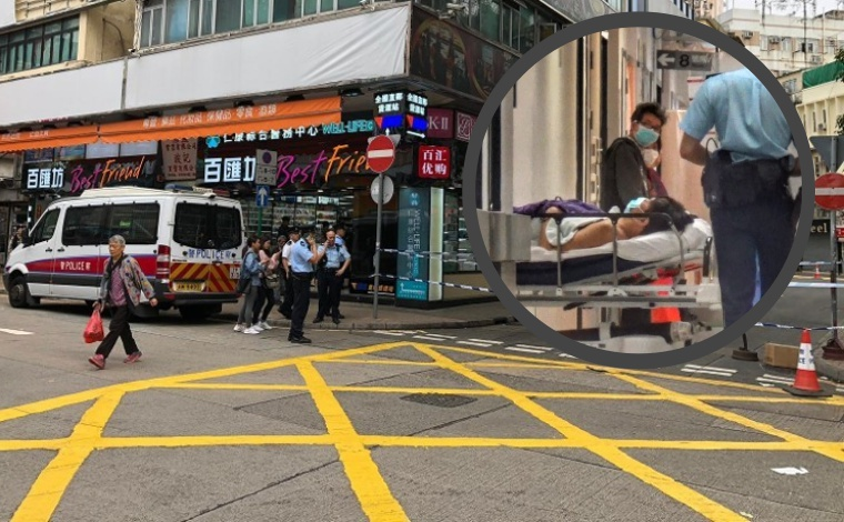Perampokan di Jalan Terjadi di Sheung Shui, 2 Korban Terluka Akibat Sabetan Pisau,Uang HK $300,000 Raib