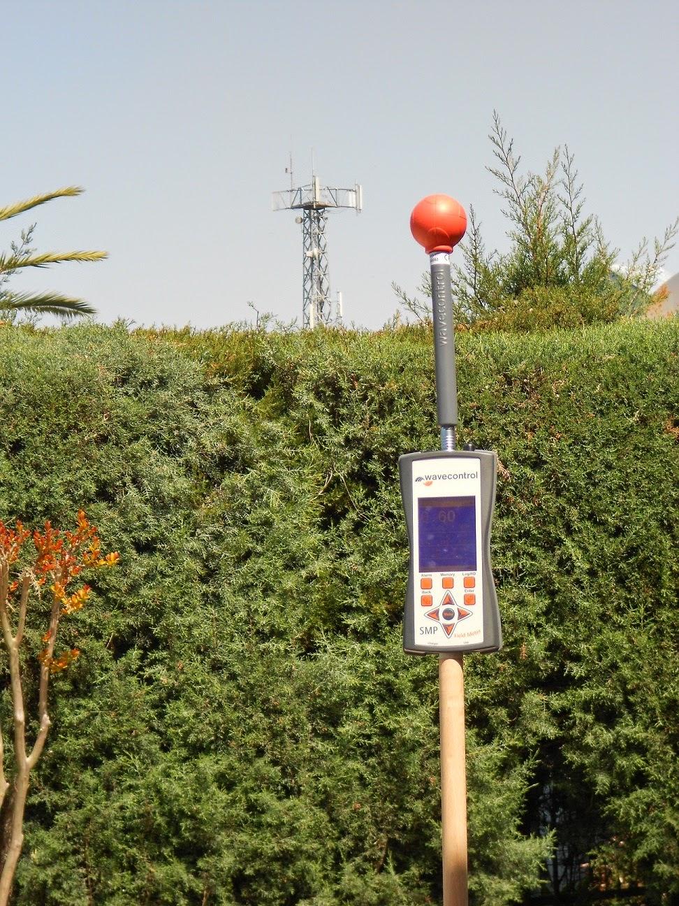 elektromanyetik radyasyon ölçümü hizmeti