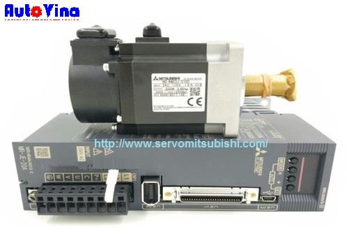 Tổng đại lý phân phối động cơ, bộ điều khiển AC Servo MR-JE-20A Mitsubishi, động cơ HF-KN23J , HF-KN23BJ