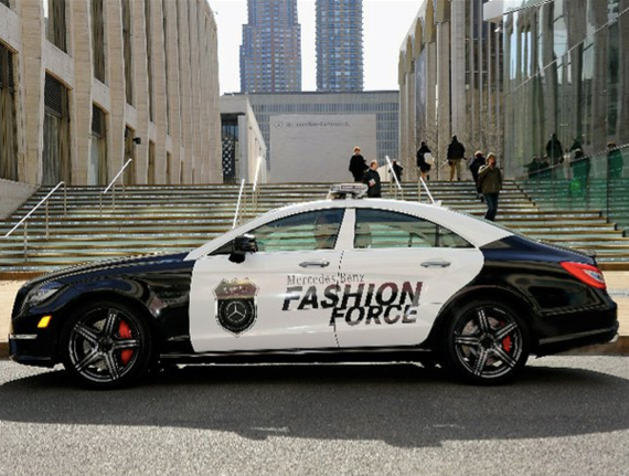 mercedes fashion force police