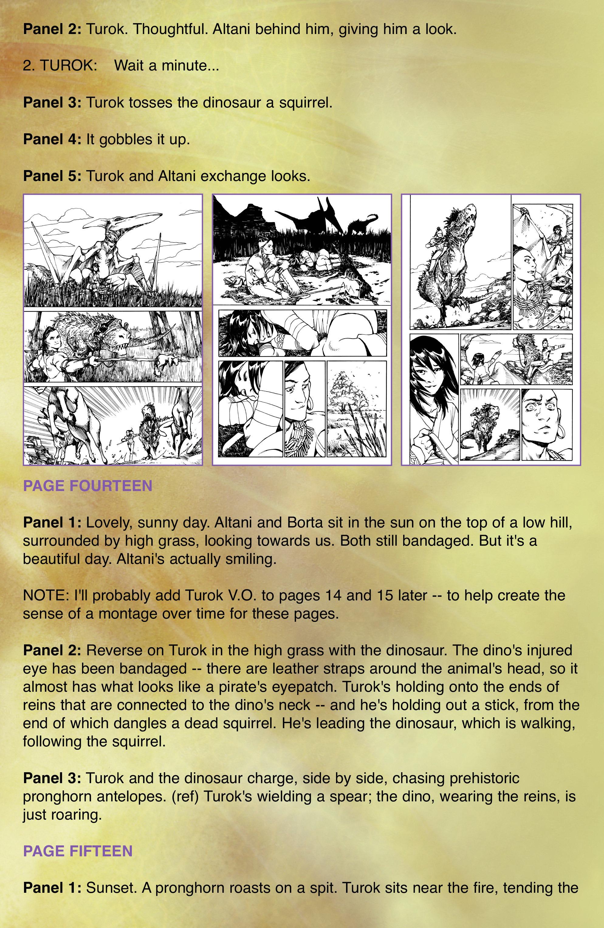 Read online Turok: Dinosaur Hunter (2014) comic -  Issue # _TPB 2 - 99