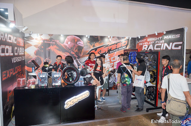 XSpeed Racing Power Exhibition Booth
