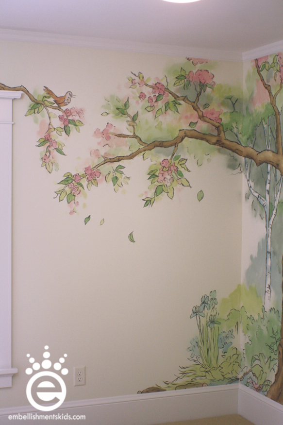 Baby Room Murals: Embellishments Kids: Out Of The Woods