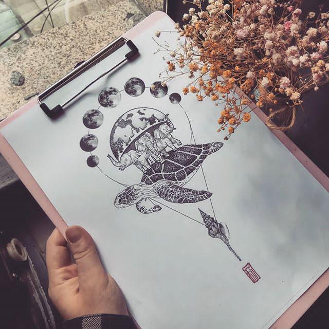 best earth tattoo ideas
