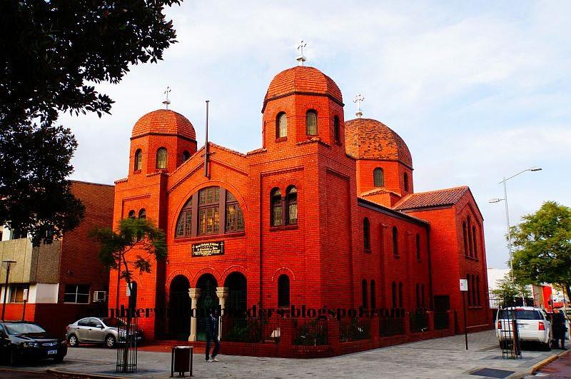 St Constantine and Helen Greek Orthodox Cathedral, Perth, WA, Australia