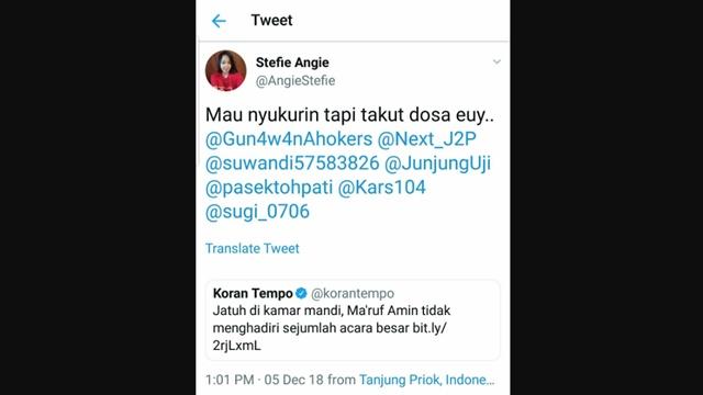 Kiai Ma'ruf Amin Terjatuh, Politikus PSI: Mau Nyukurin tapi Takut Dosa