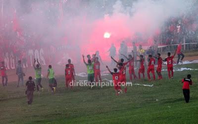 Persipa Pati Laskar Saridin Juara Grup B Liga Nusantara Jawa Tengah