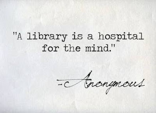 a library is hospital for the mind