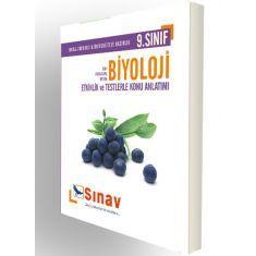 Sınav Dergisi 9.Sınıf Biyoloji Etkinlik ve Testlerle Konu Anlatımlı