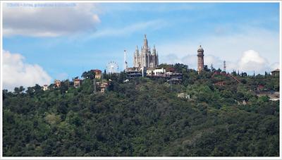 Turó de les tres creus; calvário das três cruzes; Barcelona; Conhecendo a Europa; sem guia; turismo na espanha; Park Guell;