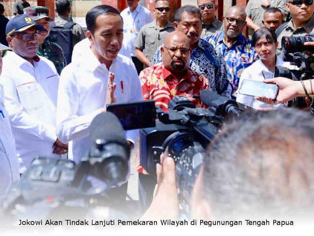 Jokowi Akan Tindak Lanjuti Pemekaran Wilayah di Pegunungan Tengah Papua