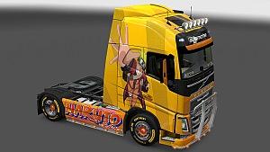 Naruto Volvo skin