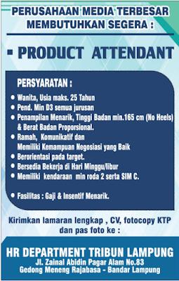 Loker Terbaru di Department Tribun Lampung Terbaru Februari 2018.