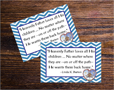 Take a sweet smile to your sisters this month when you visit with the October 2017 Visiting Teaching message printable.  This message is a great way to bring a treat or a handout to all you visit teach in October.