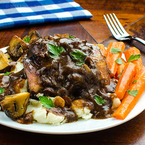 Wine-Braised Beef Short Ribs