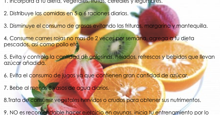 Nutrición : Recomendaciones y Fórmulas