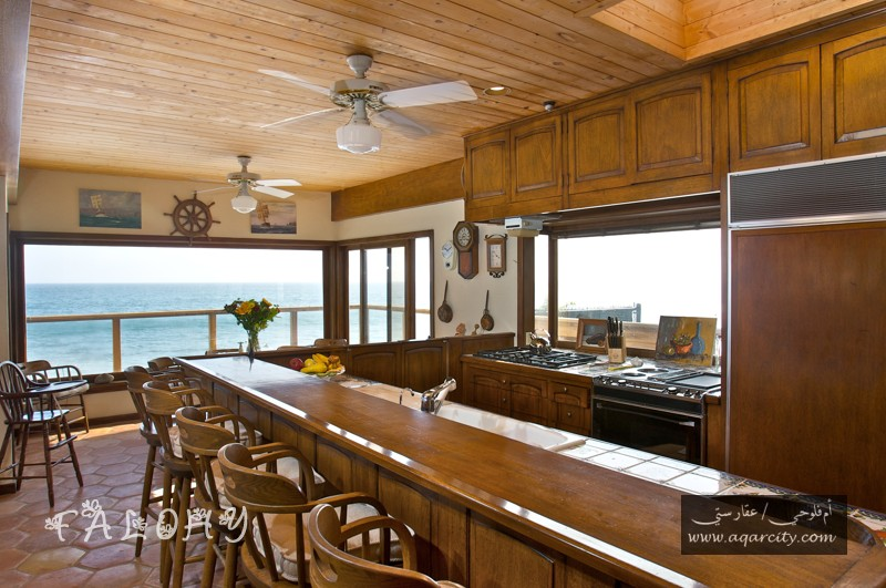 simple wood ceiling panels for kitchen