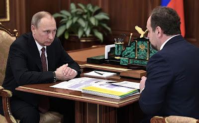 Vladimir Putin, Sergei Donskoy.