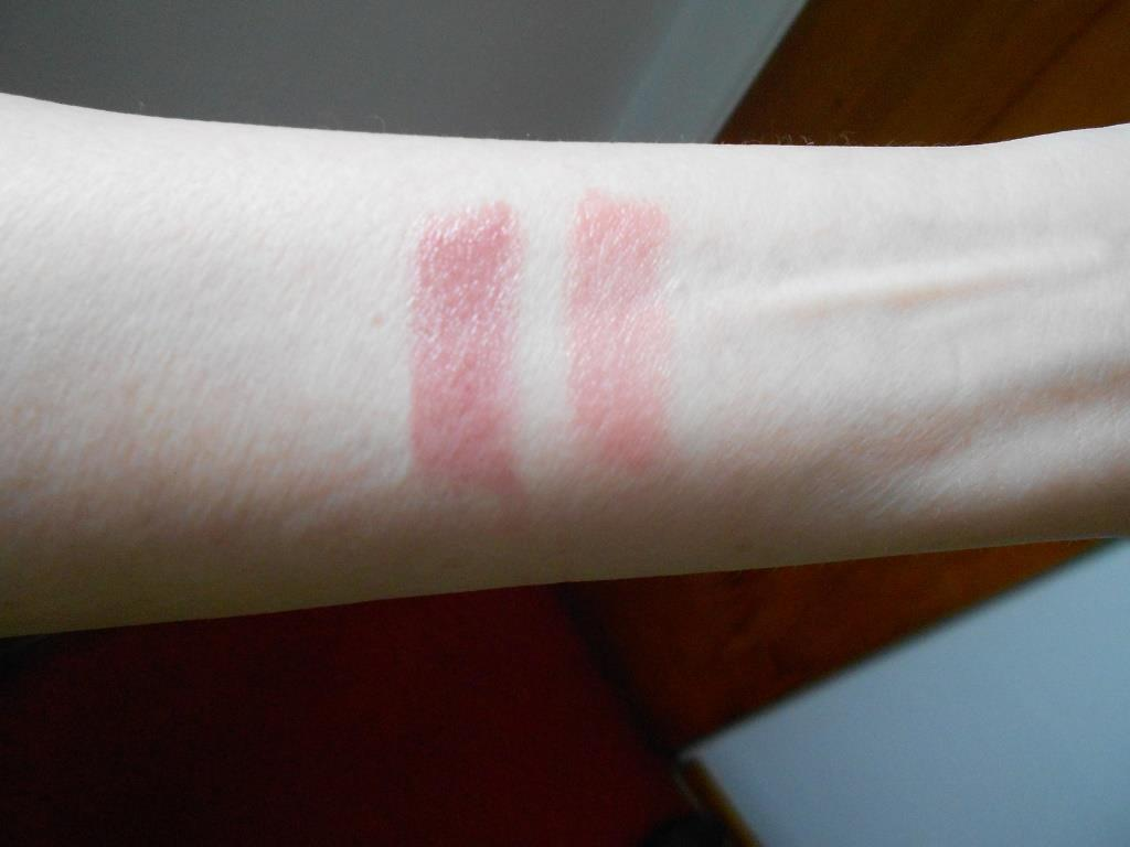 Rouge Bunny Rouge Tinted Lip Balms swatches