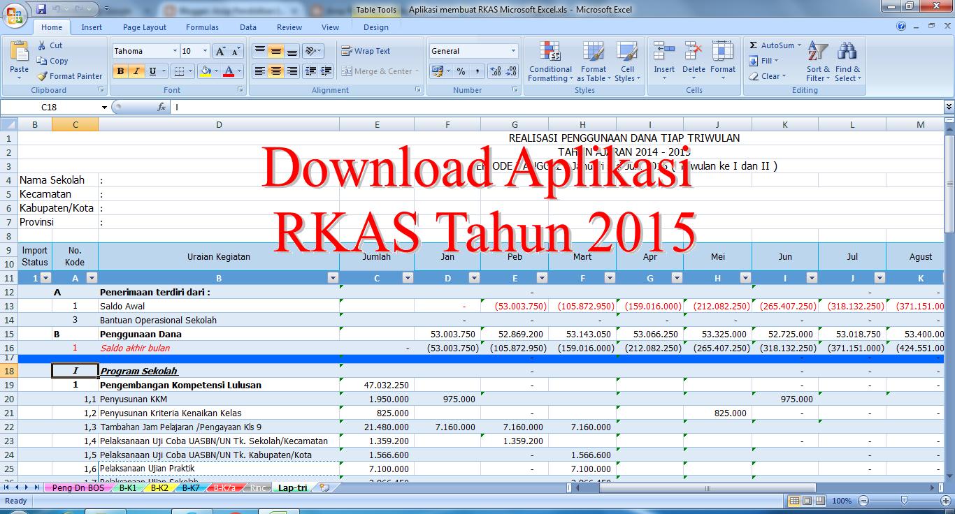 Download Aplikasi Rkas Microsoft Excel 2016 Unduh Files