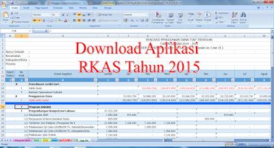 Download Aplikasi RKAS Microsoft Excel 2016