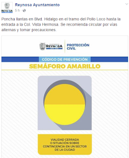 Activan semaforo amarillo este Sabado en Reynosa Tamaulipas