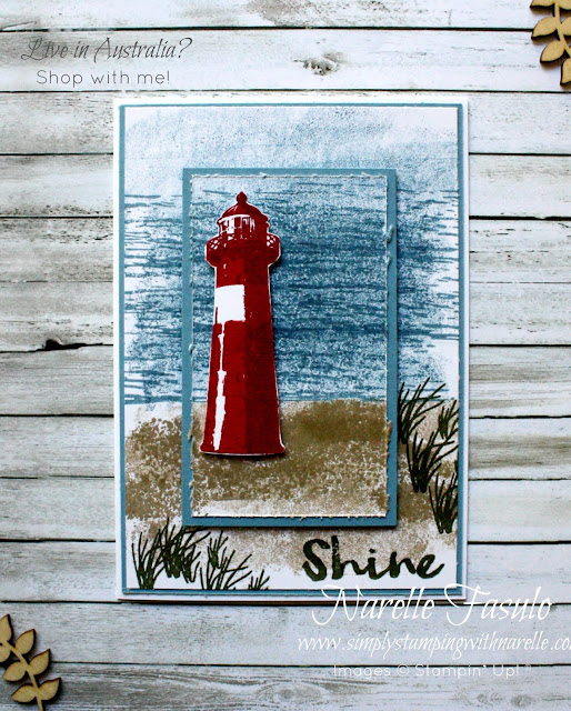 Create great masculine cards with the High Tide stamp set - get yours here - http://bit.ly/2nSlOyd
