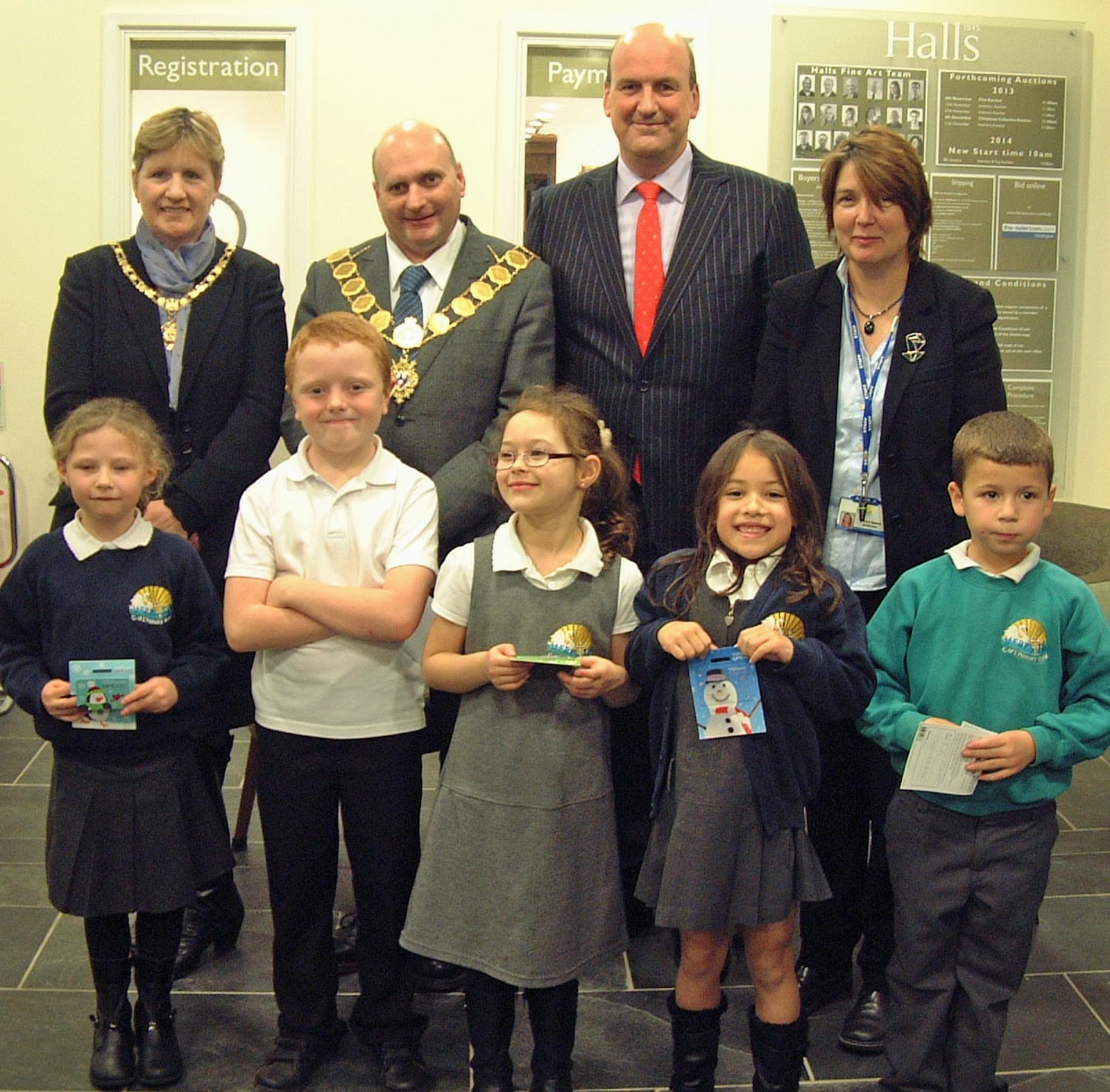 Winners announced for Halls' art competition for primary schools