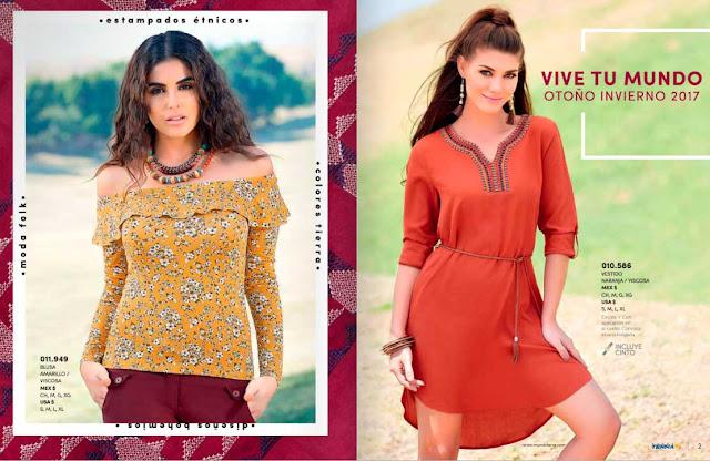 catalogo de ropa para mujer Mundo Terra 2018