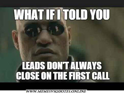 Leads always comes on the first call